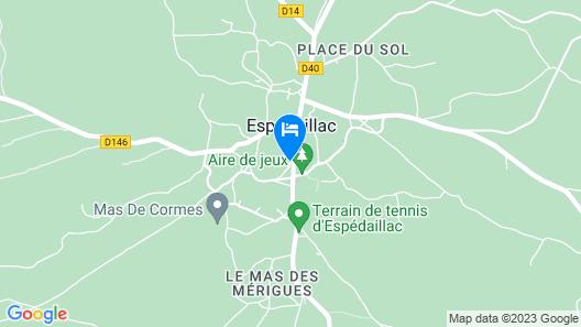 Chambre d'hôtes Le Chat Botté Map