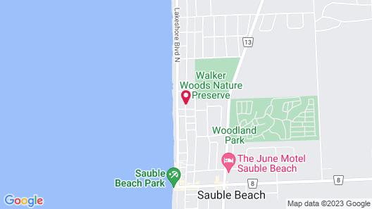 Sauble Beach Lodge Map