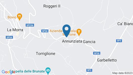 Arborina Relais Map