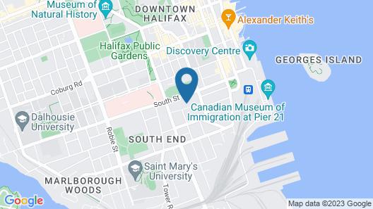 The Vuze Apartments Map