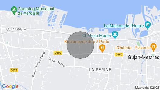 Charmante Petite Maison à Proximité Immédiate des Ports Ostréicoles Map