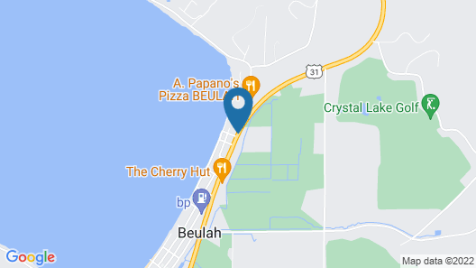 Crystal Lake Resort Map