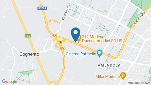 Hotel Lux Modena Map