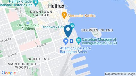The Westin Nova Scotian Map