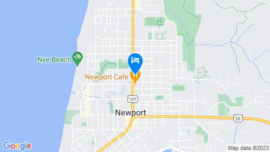 Newport Coast Inn Map