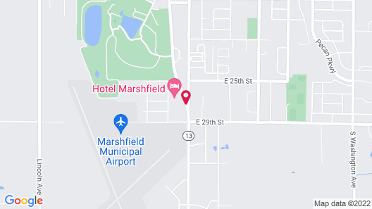 Hotel Marshfield, BW Premier Collection Map