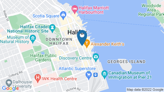 Four Points by Sheraton Halifax Map