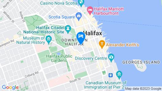 Cambridge Suites Hotel Map