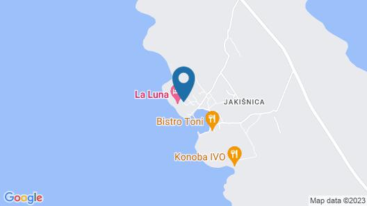 La Luna Hotel Map