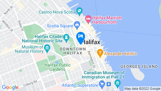 The Sutton Place Hotel Halifax Map