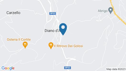 Casa Tina Map