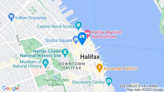 The Barrington Hotel Map