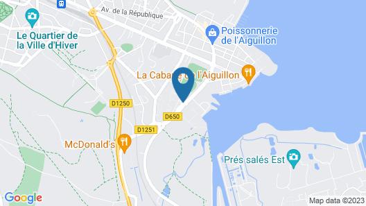 Hôtel Altica Port d'Arcachon Map