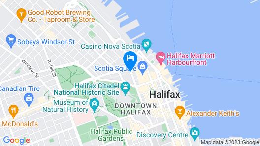 Hampton Inn by Hilton Halifax Downtown Map