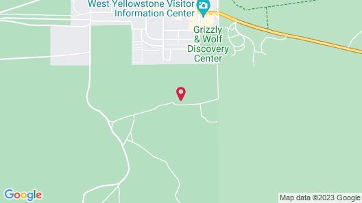 Yellowstone Park Hotel Map