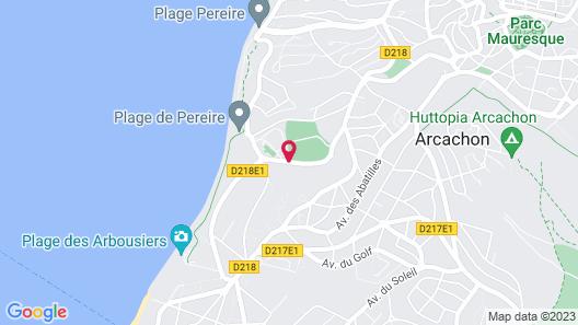 Hôtel & Spa Les Bains d'Arguin by Thalazur Map