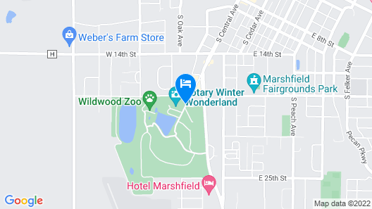 Park Motel Map