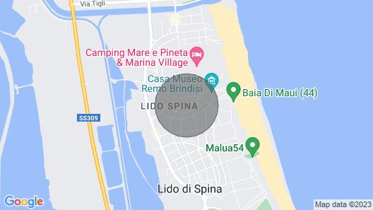 Alba 4 Pers. - One Bedroom Resort, Sleeps 4 Map