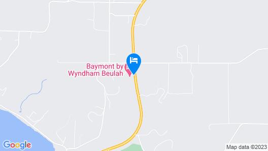 Baymont by Wyndham Beulah Map