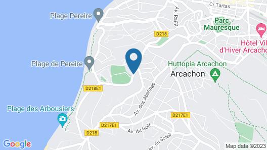 Hôtel du Parc Map
