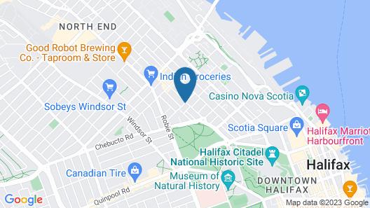 Commons Inn Map