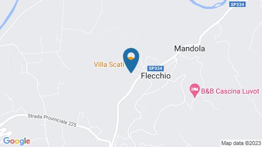Villa Scati Map