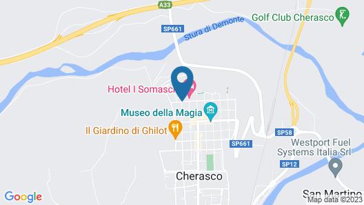 Somaschi Hotel - Monastero di Cherasco Map
