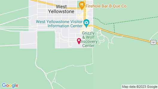 WorldMark West Yellowstone Map
