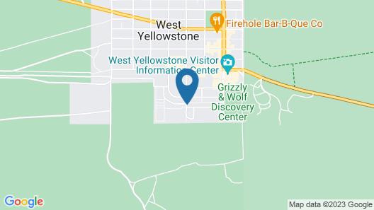 Yellowstone Lodge Map