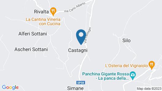 Tra Monti e Vigne Map