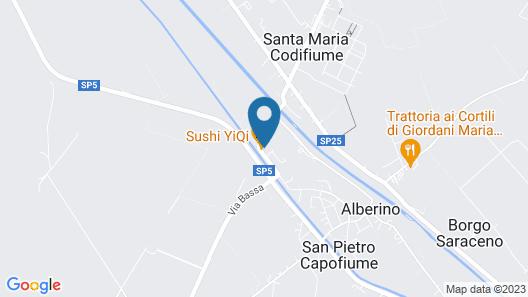 Locanda Al Cavaliere Map