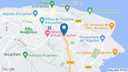 Villa Madelon Map
