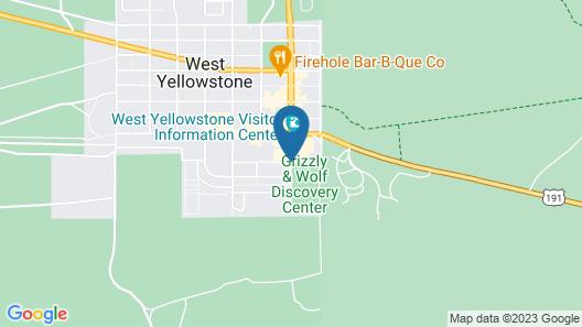 Kelly Inn West Yellowstone Map