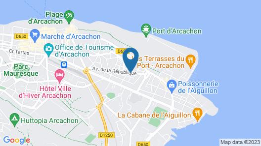 Grand Atlantic Hôtel Map