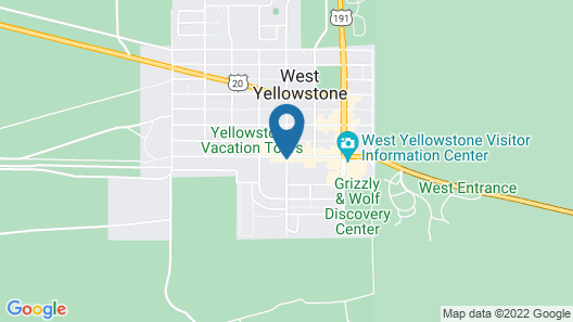 ClubHouse Inn West Yellowstone Map