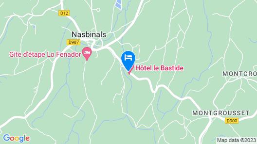 Hôtel Le Bastide Map