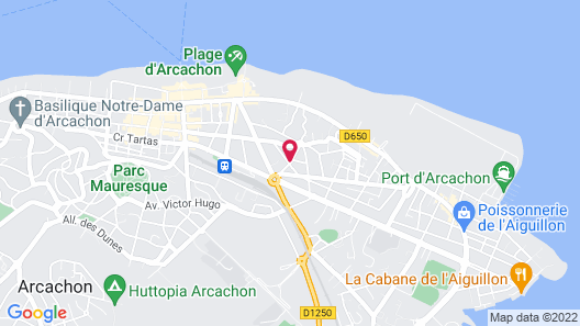 Hotel Le Dauphin Map