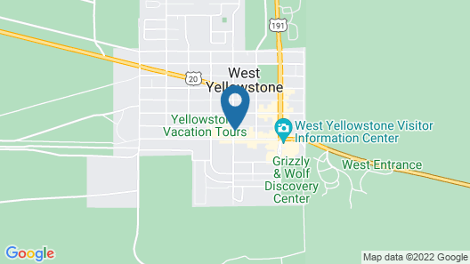 Holiday Inn - West Yellowstone Map