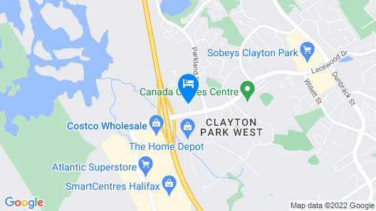 Future Inns Halifax Map
