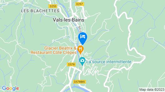 Villa Aimee Map