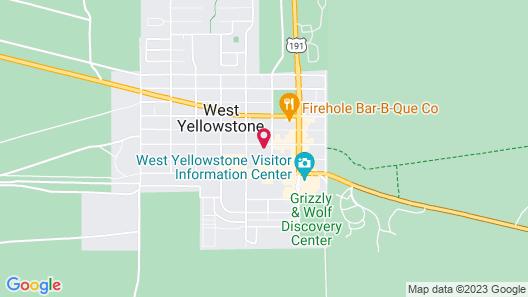 City Center Motel Map