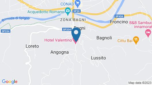 Hotel Valentino Map