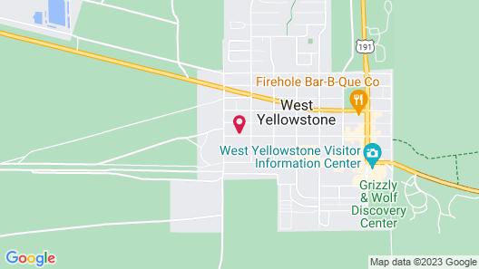 Yellowstone Westgate Hotel Map