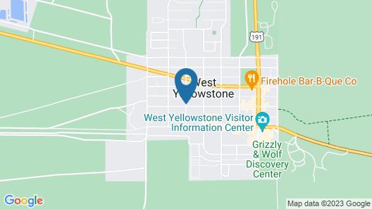 Days Inn by Wyndham West Yellowstone Map