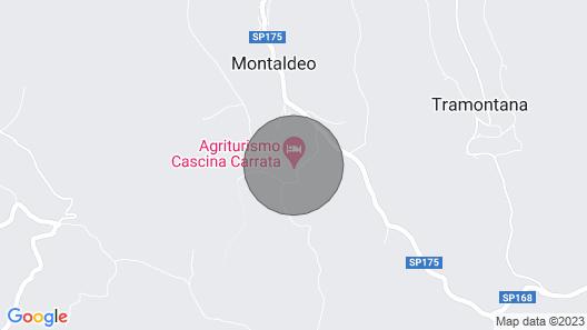 Cascina Carrata Holiday House Map