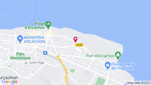 Arc Hôtel sur Mer Map