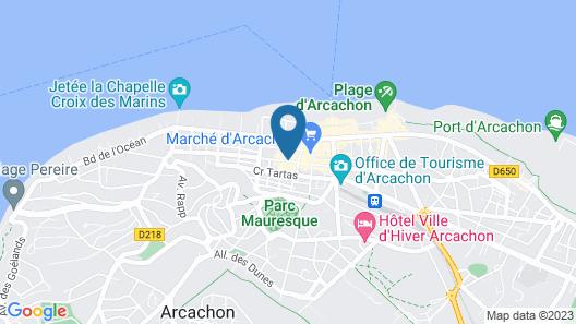 Hôtel La Pergola d'Arcachon Map