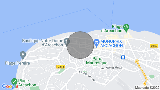 APP Center Arcachon Climatise With Wifi Map
