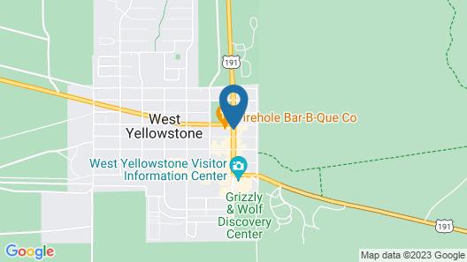 Best Western Desert Inn Map