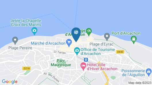 Grand Hôtel Richelieu Map